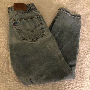 Levi's Jeans - Levi's 520 relaxed fit women's jeans